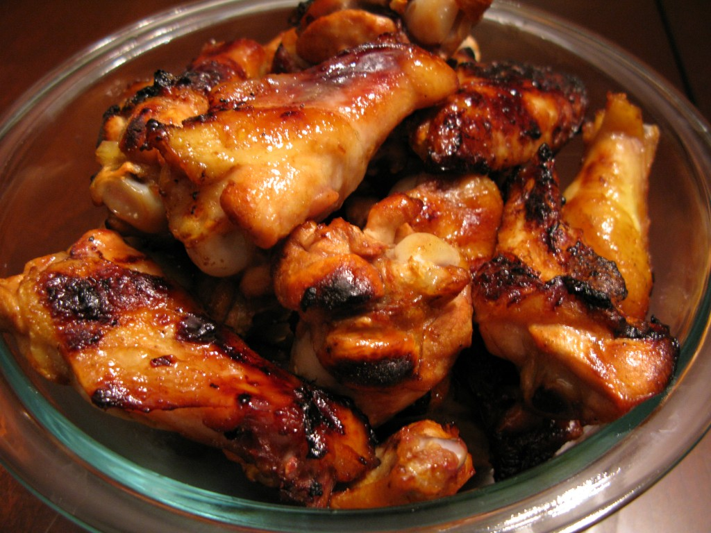 Honey and Garlic Chicken Wings – Super Bowl time Paleo style :)